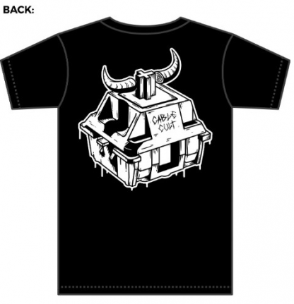 Cable cult t-shirt back