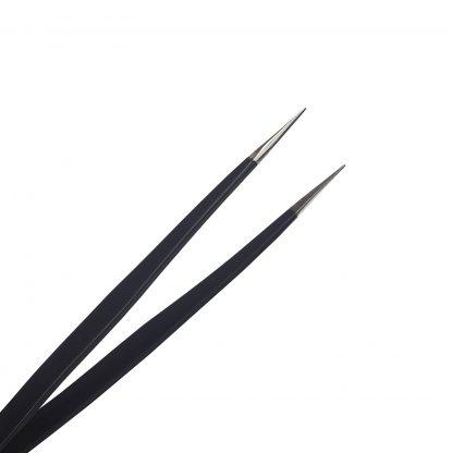 Metal fine tweezers